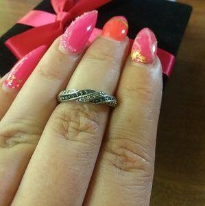 Jewelry - Beautiful blue and white diamond jewlery
